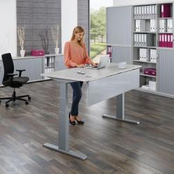 Sitz-Steh-Schreibtische