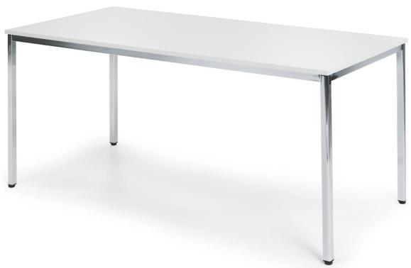 Besprechungstisch Weiß | 1600 mm | 800 mm | Rechteck