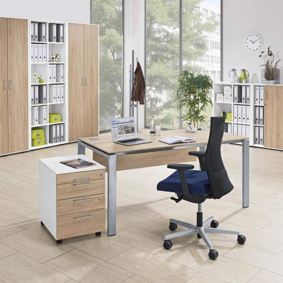 Schreibtische 4-Fuß Basic EVO