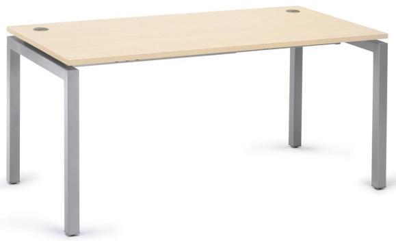 Schreibtisch BASIC MULTI M Ahorndekor | 1600 mm