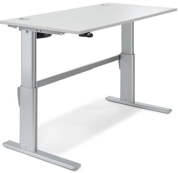 Sitz-/Stehtisch Basic MULTI MODUL Lichtgrau | 1200 mm