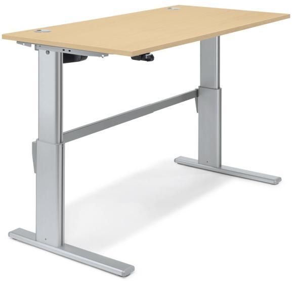 Sitz-/Stehtisch Basic MULTI MODUL Ahorndekor | 1200 mm