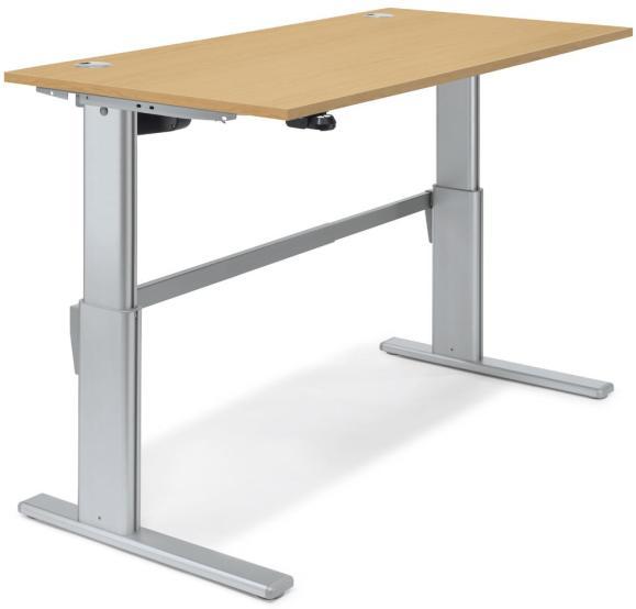 Sitz-/Stehtisch Basic MULTI M Buchedekor | 1600 mm