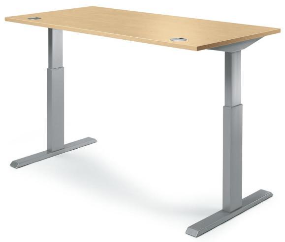 Sitz-/Stehtisch BASIC Buche | 1200 mm
