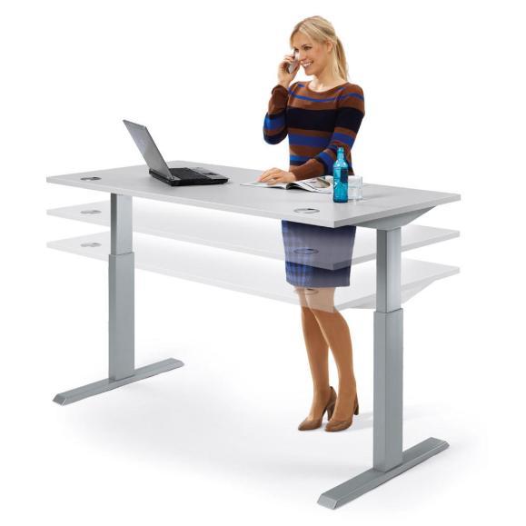 Sitz-/Stehtschreibtische MULTI M Basic