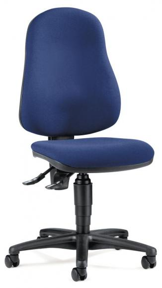 Bürodrehstuhl BASE ART 60 ohne Armlehnen Blau