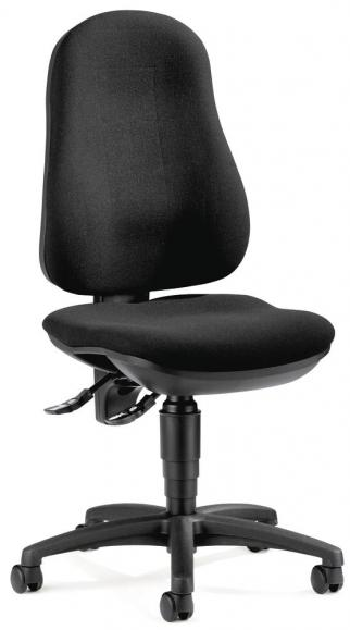Bürodrehstuhl BASE ART 70 ohne Armlehnen Schwarz