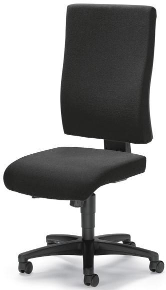 Bürodrehstuhl COMFORT R BIG ohne Armlehnen Anthrazit | ohne Armlehnen (optional)