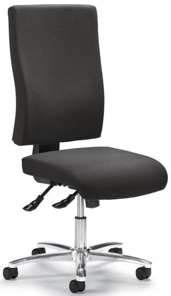 Bürodrehstuhl COMFORT R BIG DELUXE ohne Armlehnen Anthrazit