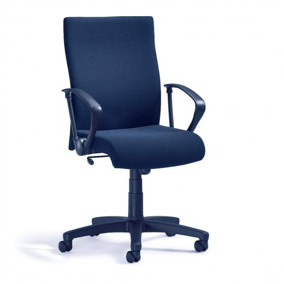 Bürodrehstuhl DV 10 inkl. Armlehnen Dunkelblau