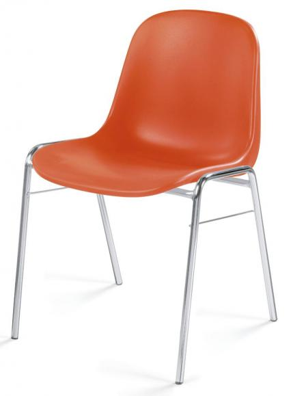 Besucherstuhl HIP Orange