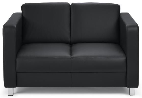 Sofa 2-zit AREZZO zwart | 2-zit