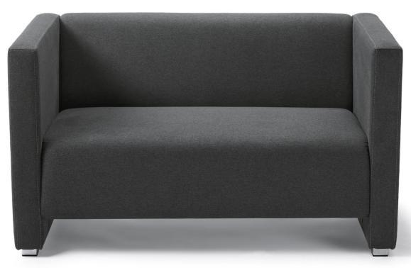 Sofa ZÜRICH Anthrazit | Sofa, Stoff