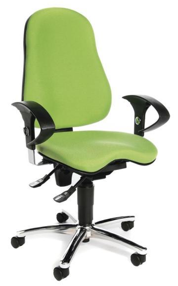 Bürodrehstuhl SITNESS 40 inkl. Armlehnen Grün