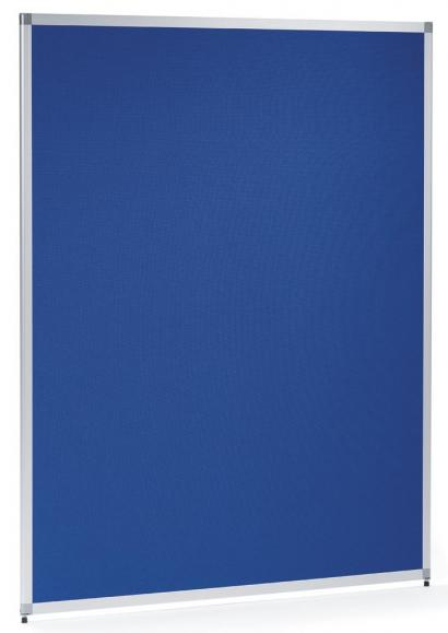 Scheidingswand MIAMI 810 mm | doek blauw, geluidsabsorberend