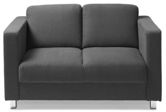 Sofa 3-zit AREZZO antraciet | 3-Sitzer