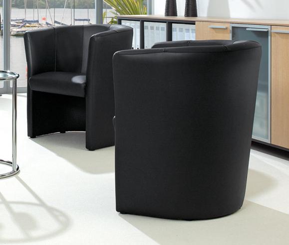 Designsessel Schwarz   Sessel