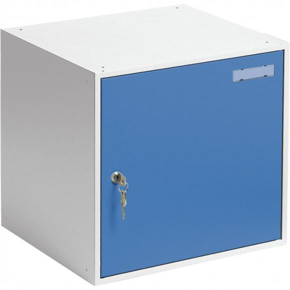 Schließfachwürfel SYSTEM SP Himmelblau RAL 5015   B 450 x H 450 x T 450 mm