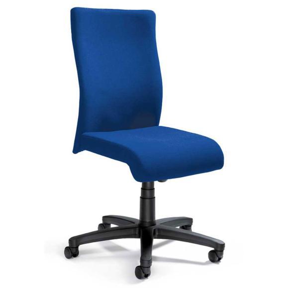 Bürodrehstuhl DV 10 ohne Armlehnen Blau