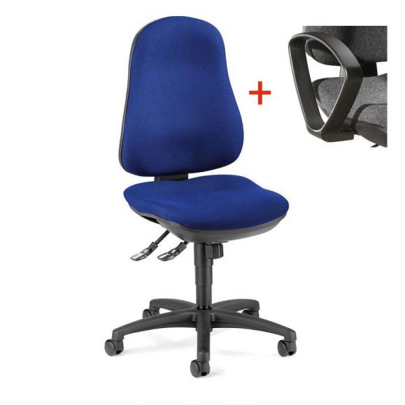 Bürodrehstuhl COMFORT I ohne Armlehnen