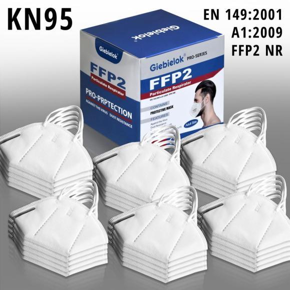 Gesichtsmaske FFP2 CE Kennzeichnung, 1 VE = 30 Stück