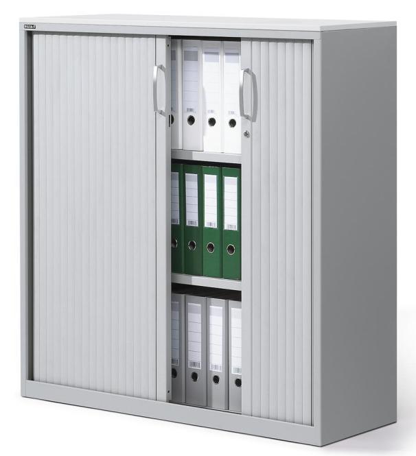 Rollladenschrank CONCEPT LINE Lichtgrau | 1160 mm (3 OH)