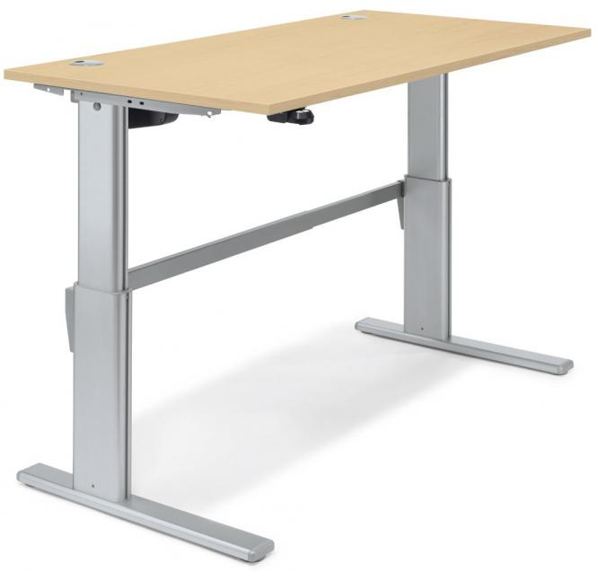 Sitz-/Stehtisch Basic MULTI M Ahorndekor   1600 mm