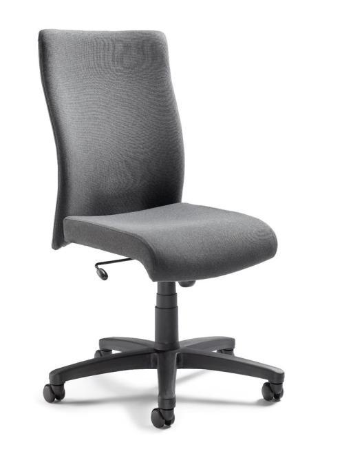 Bürodrehstuhl DV 10 ohne Armlehnen Anthrazit