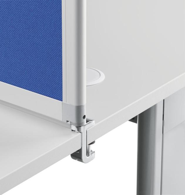 Tischklemme zu Tischaufsatzelement für Tischplattenstärke 20-38 mm
