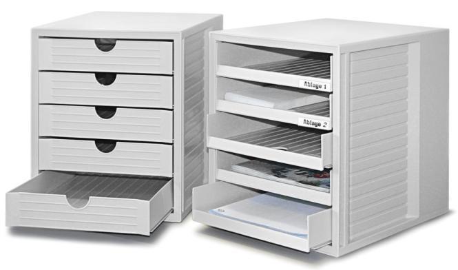 Schubladen-System Boxen