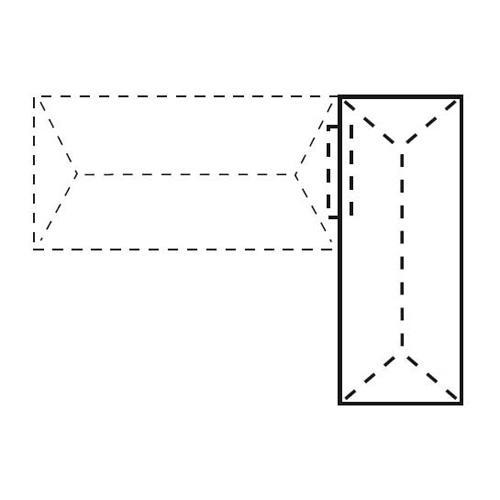 Anstelltisch CONCEPT LINE Ahorndekor | 1600 mm