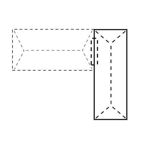 Anstelltisch CONCEPT LINE Ahorndekor | 1800 mm