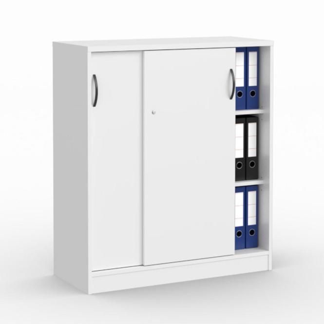 Schiebetürenschrank MULTI M Weiß   1000 mm   ohne Garderobe   1145 mm (3 OH)