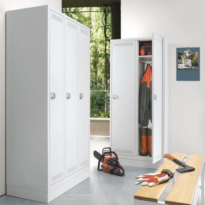 Garderoben-Stahlspinde PROFI SYSTEM mit Sockel