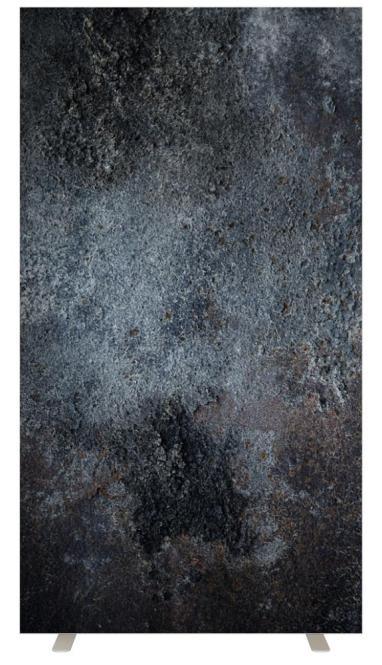 Stellwand NAPLES 940 mm | Dunkelgrau marmoriert