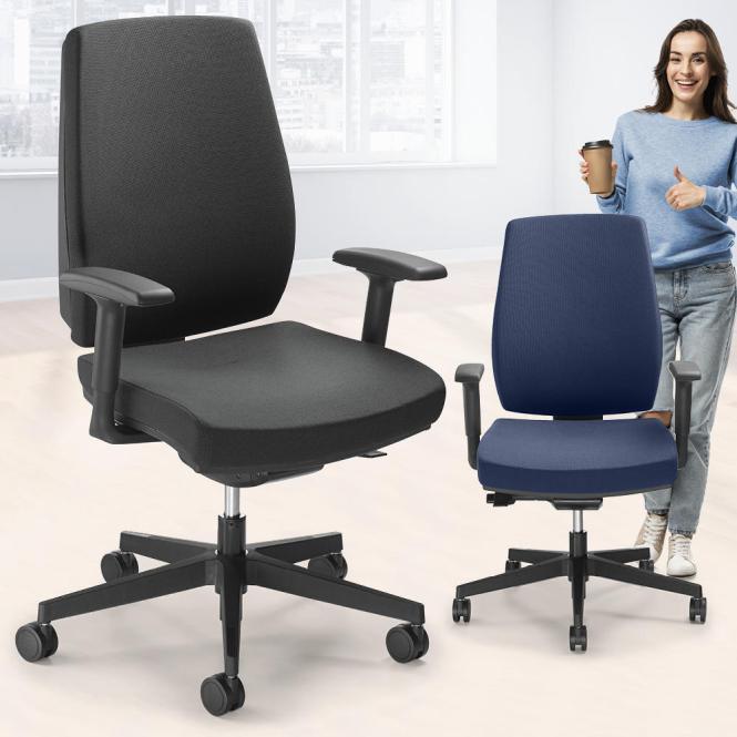 Bürodrehstuhl Ergo SIT mit Armlehnen