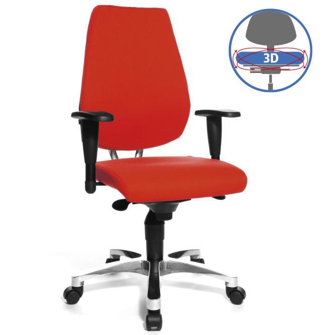 Bürodrehstuhl SITNESS 50 - bewegliche Sitzfläche