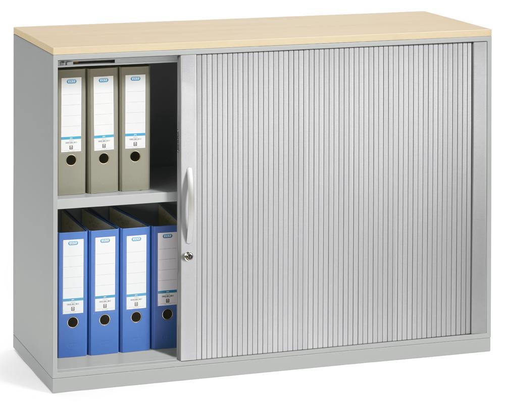 Rollladenschrank DESKINFLEXX | Büromöbel und Betriebseinrichtung