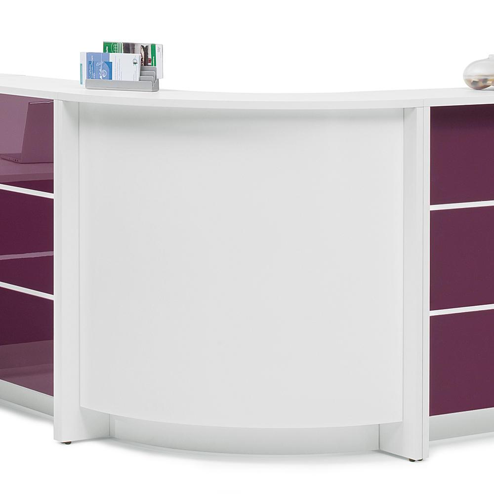 Theken-Eckelement 90° außen ELINUS | Büromöbel und Betriebseinrichtung