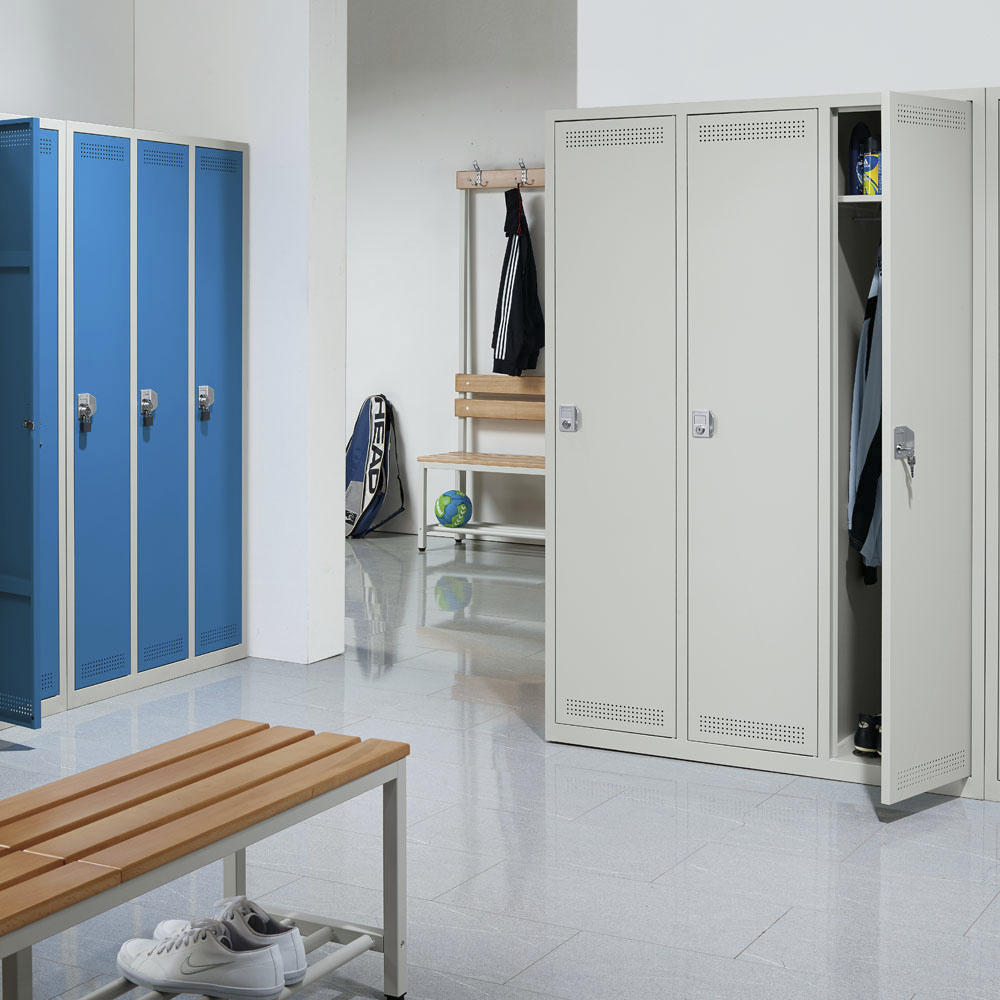 garderobenspinde profi system ohne unterbau b rom bel und betriebseinrichtung. Black Bedroom Furniture Sets. Home Design Ideas