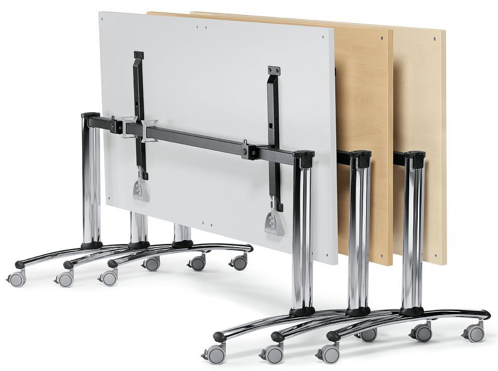 klapptisch modul mit rollen b rom bel und betriebseinrichtung. Black Bedroom Furniture Sets. Home Design Ideas