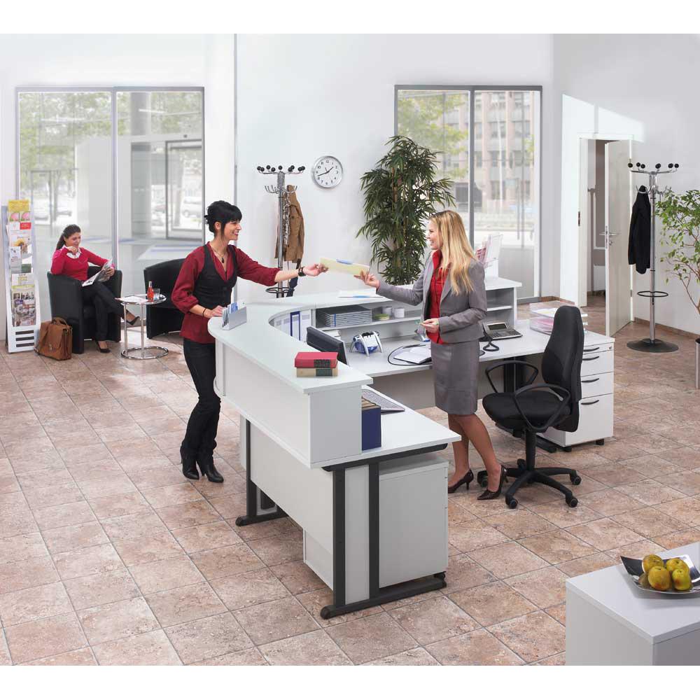 Thekenaufsatz MULTI M | Büromöbel und Betriebseinrichtung